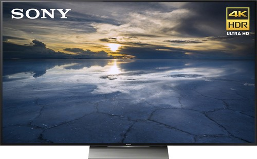 "Sony - 55"" Class (54.6"" diag) - LED - 2160p - Smart - 3D - 4K Ultra HD TV with High Dynamic Range - Black"