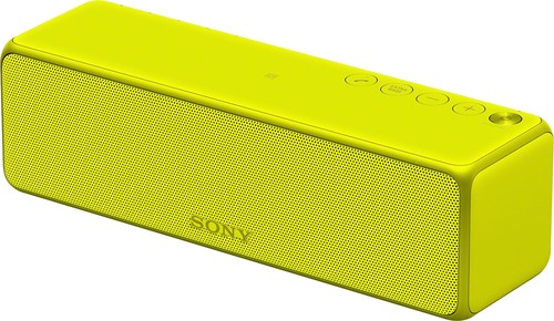 Sony - h.ear go SRS-HG1 Hi-Res Wireless Speaker for Streaming Music - Lime yellow