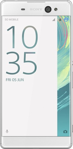 Sony - XPERIA XA Ultra 4G LTE with 16GB Memory Cell Phone (Unlocked) - White