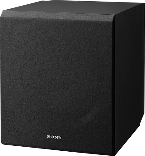 "Sony - Core Series 10"" 115W Active Subwoofer - Black"