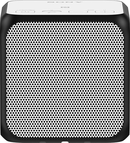 Sony - Ultraportable Bluetooth Speaker - White