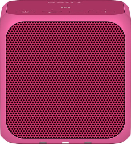 Sony - Ultraportable Bluetooth Speaker - Pink