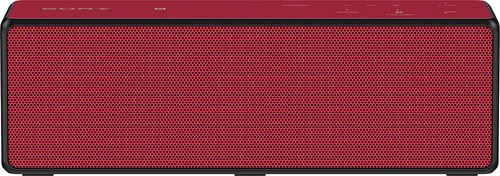 Sony - Portable Bluetooth Speaker - Red