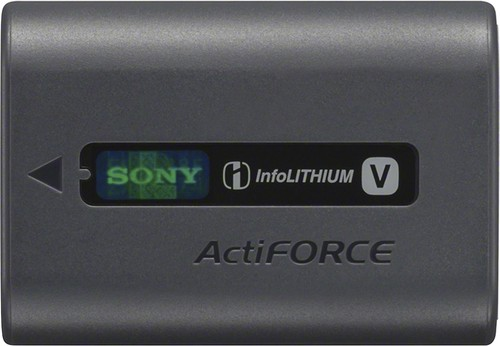 Sony - InfoLithium Rechargeable Lithium-Ion Battery - Black