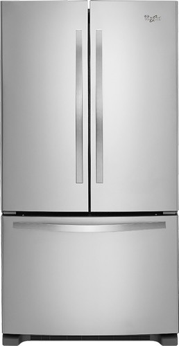 Whirlpool - 24.8 Cu. Ft. French Door Refrigerator - Stainless Steel