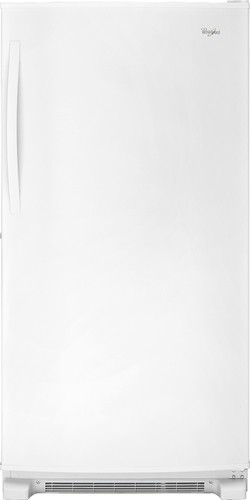 Whirlpool - 19.6 Cu. Ft. Frost-Free Upright Freezer - White