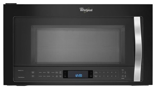Whirlpool - 1.9 Cu. Ft. Over-the-Range Microwave - Black Ice