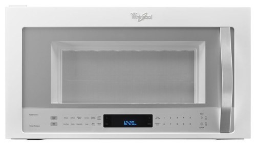 Whirlpool - 1.9 Cu. Ft. Over-the-Range Microwave - White Ice