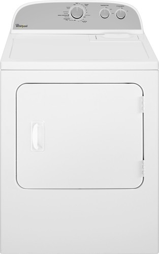 Whirlpool - 7.0 Cu. Ft. 14-Cycle Gas Dryer - White