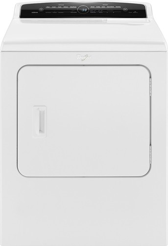 Whirlpool - Cabrio 7.0 Cu. Ft. 23-Cycle Electric Dryer with Steam - White