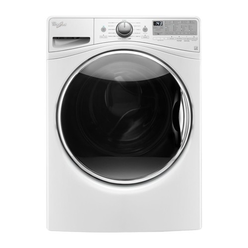 Whirlpool - 4.2 Cu. Ft. 12-Cycle High-Efficiency Front Load Washer - White