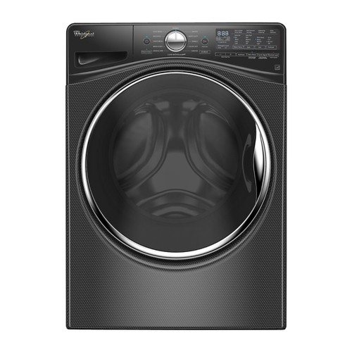 Whirlpool - 4.2 Cu. Ft. 12-Cycle High-Efficiency Front Load Washer - Black