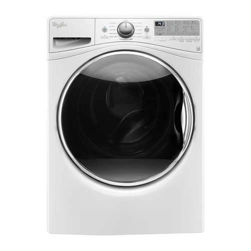Whirlpool - 4.5 Cu. Ft. 12-Cycle High-Efficiency Front Load Washer - White