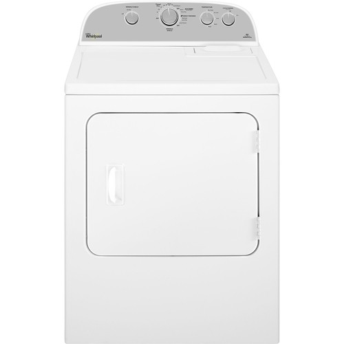 Whirlpool - 5.9 cu. ft. 12-Cycle Electric Dryer - White