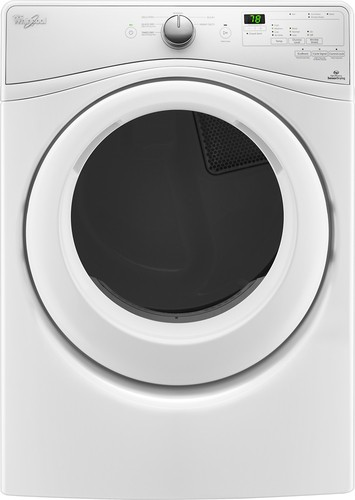 Whirlpool - 7.4 Cu. Ft. 6-Cycle Electric Dryer - White