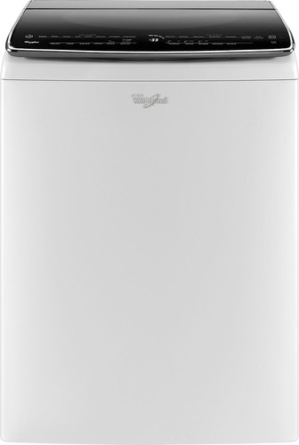 Whirlpool - 6.2 Cu. Ft. Top-Loading Washer - White