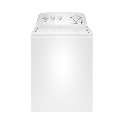 Whirlpool - 3.5 Cu. Ft. 11-Cycle Top-Loading Washer - White