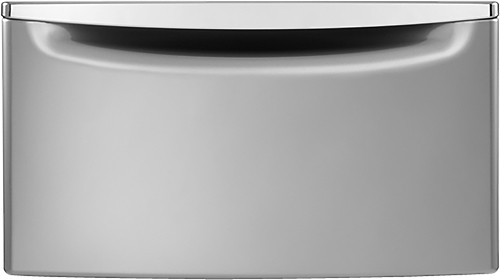 Whirlpool - Washer/Dryer Laundry Pedestal with Storage Drawer - Chrome Shadow
