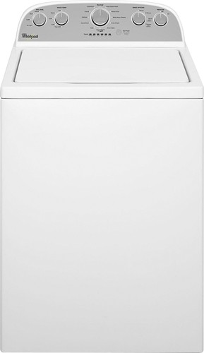 Whirlpool - Cabrio 4.3 Cu. Ft. 12-Cycle High-Efficiency Top-Loading Washer - White