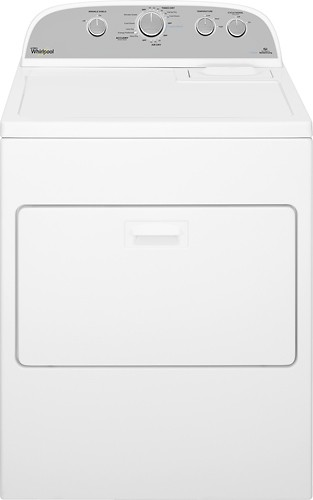 Whirlpool - 7.0 Cu. Ft. 13-Cycle Electric Dryer with Steam - White