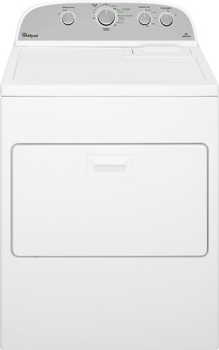 Whirlpool - 7.0 Cu. Ft. 13-Cycle Gas Dryer - White
