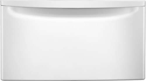 Whirlpool - Laundry Pedestal with Storage Drawer - White